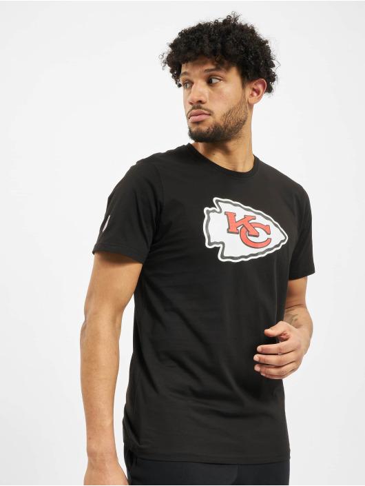 New Era T-Shirty NFL Kansas City Chiefs NE96196FA14 Team Logo czarny