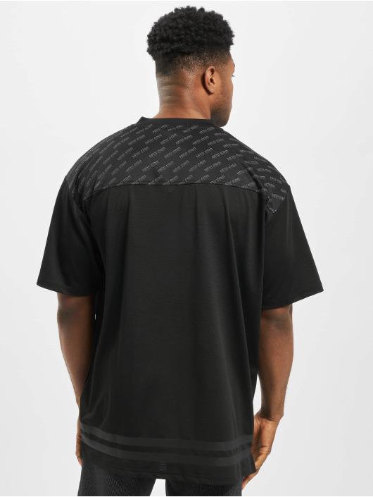 New Era T-Shirty Technical Oversized czarny