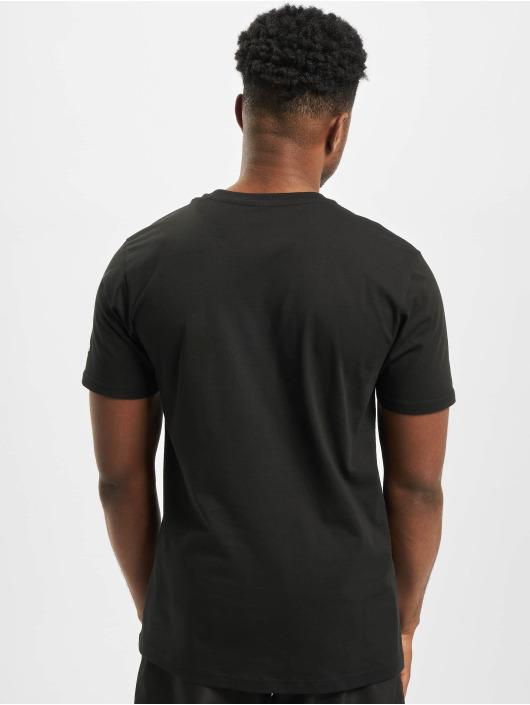 New Era T-Shirty Far East Graphic czarny