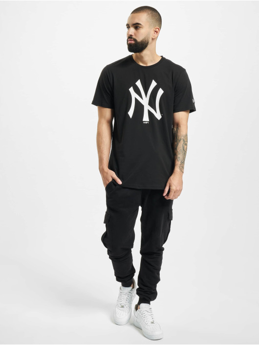 New Era T-Shirty MLB NY Yankees czarny