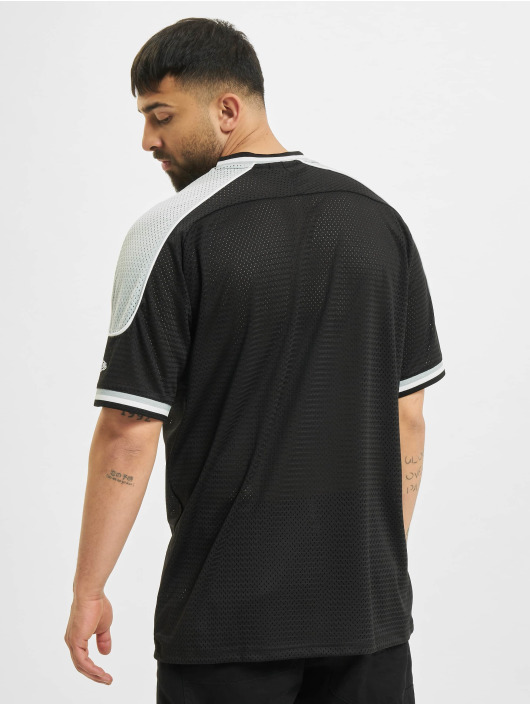 New Era T-Shirty NFL Las Vegas Raiders Contrast Panel Oversized czarny