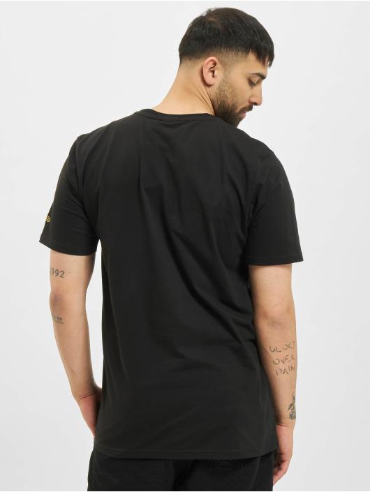 New Era T-Shirty Essential Visor Sticker czarny