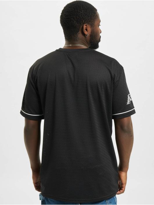 New Era T-Shirty NBA Los Angeles Lakers Team Logo Oversized czarny