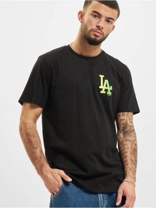 New Era T-Shirty MLB Los Angeles Dodgers czarny