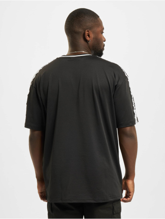 New Era T-Shirty NFL Las Vegas Raiders Taping Oversized czarny