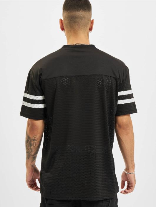 New Era T-Shirty NFL Kansas City Chiefs Outline Logo Oversized czarny