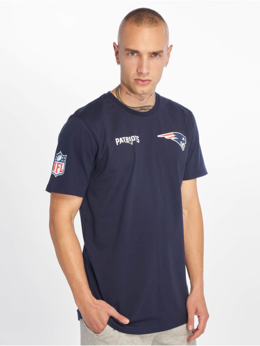 New Era T-Shirty NFL New England Patriots Established Number niebieski
