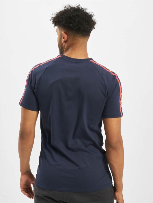 New Era T-Shirty NFL New England Patriots Raglan Shoulder Print niebieski