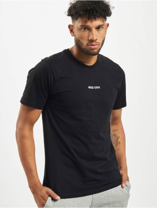 New Era T-Shirty Essential niebieski