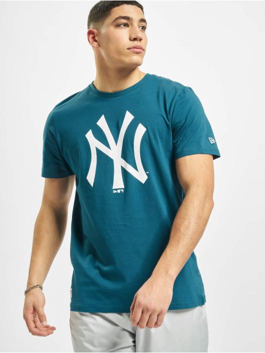 New Era T-Shirty MLB NY Yankees Seasonal Team Logo niebieski