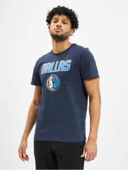 New Era T-Shirty NBA Dallas Mavericks Team Logo niebieski