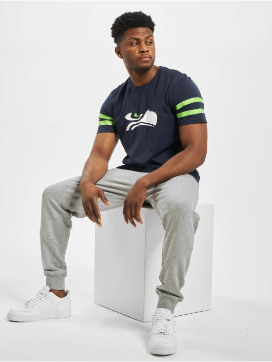 New Era T-Shirty NFL Seattle Seahawks Elements niebieski