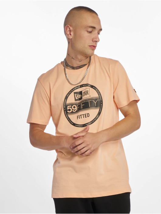 New Era T-Shirty Visor Sticker pomaranczowy