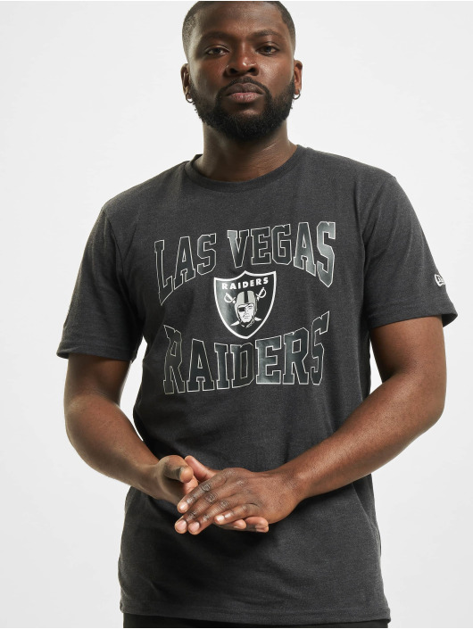 New Era T-Shirty NFL Las Vegas Raiders Team Logo szary