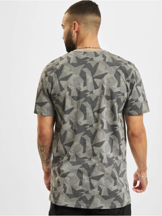 New Era T-Shirty NFL Las Vegas Raiders Geometric Camo szary