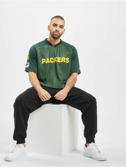 New Era T-Shirty NFL Green Bay Packers zielony