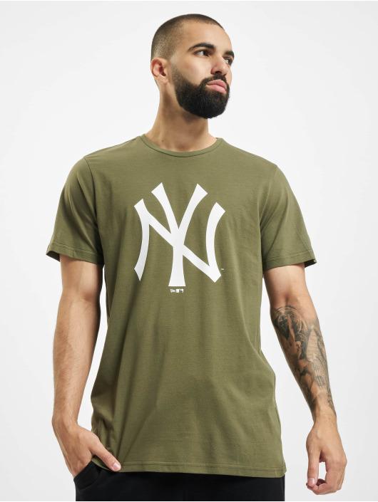New Era T-Shirty MLB NY Yankees zielony