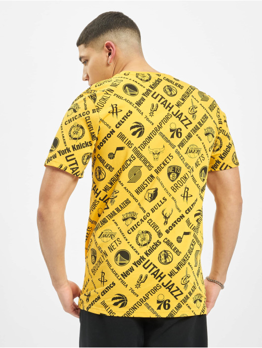 New Era T-Shirty NBA Logo All Teams zloty