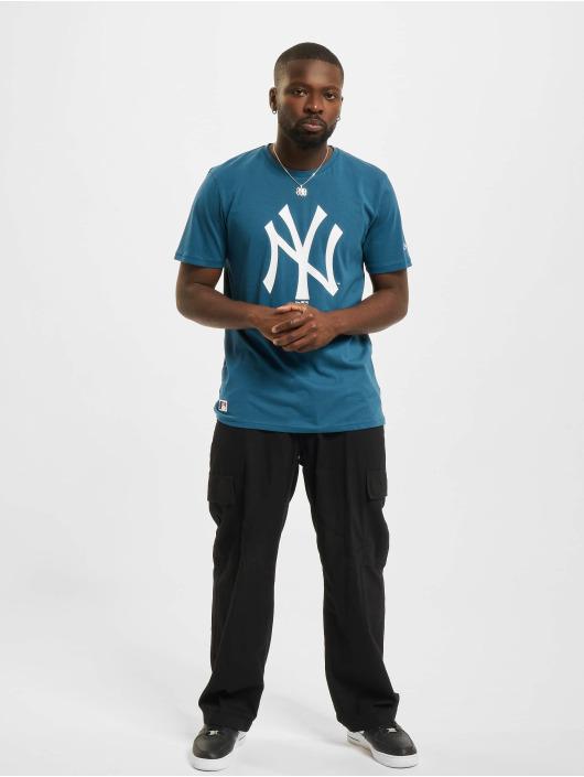 New Era T-skjorter MLB New York Yankees Seasonal Team Logo blå