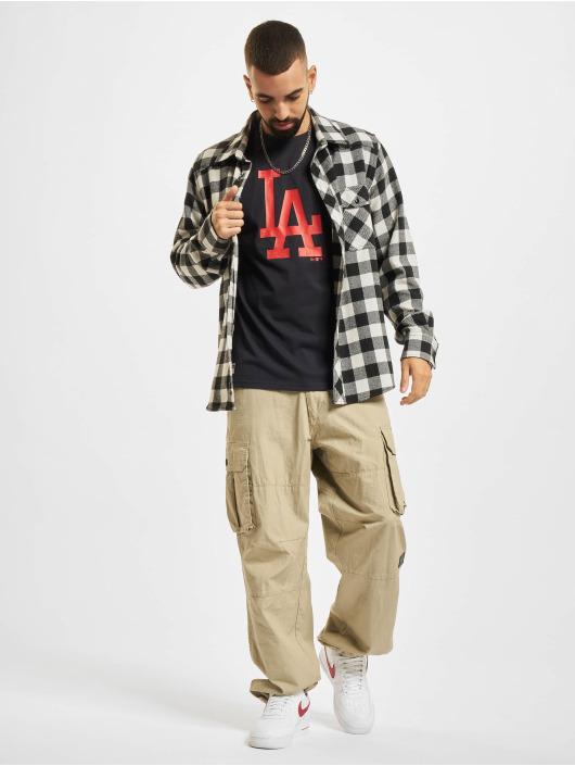 New Era T-skjorter MLB Los Angeles Dodgers Seasonal Team Logo blå