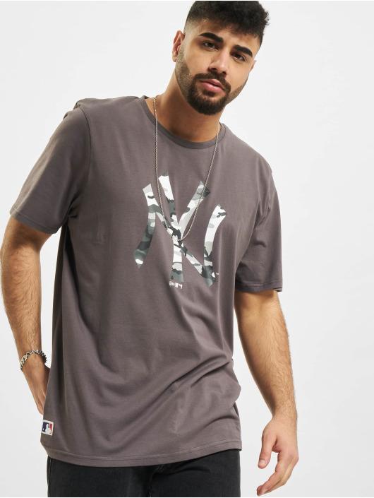 New Era T-skjorter MLB New York Yankees grå