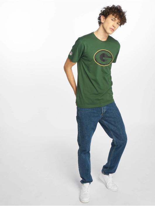 New Era T-skjorter NFL Green Bay Packers Fan grøn