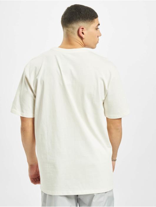 New Era T-skjorter MLB NY Yankees Big Logo Oversized hvit