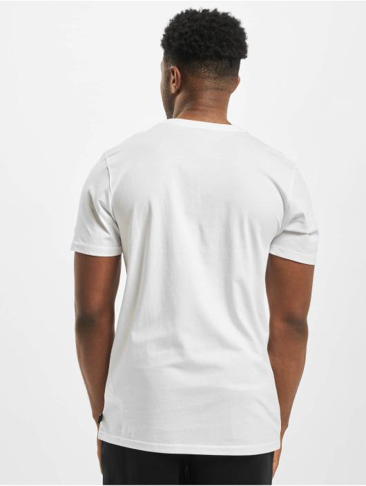 New Era T-skjorter MLB NY Yankees Print Infill hvit