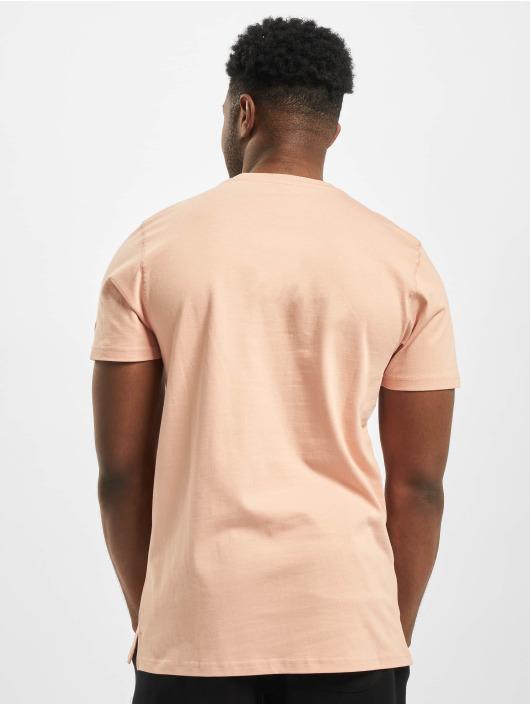 New Era T-skjorter Patch lyserosa