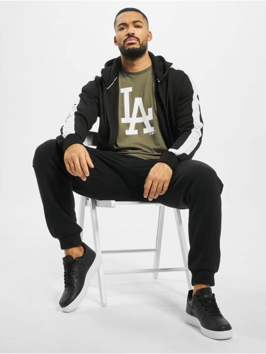 New Era T-skjorter MLB LA Dodgers Seasonal Team Logo oliven