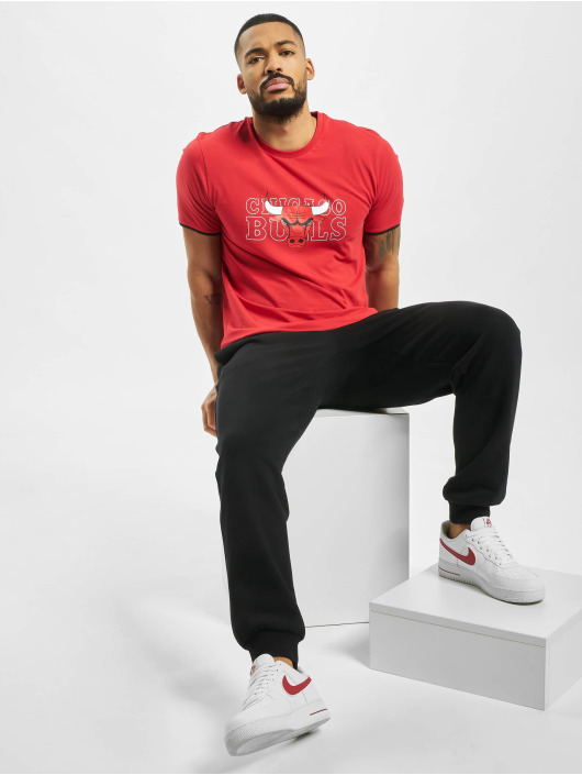 New Era T-skjorter NBA Chicago Bulls Graphic red
