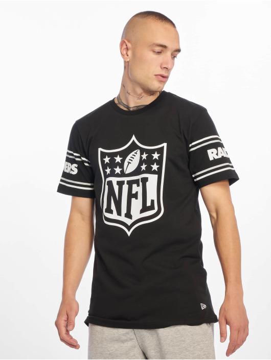 New Era T-skjorter NFL Oakland Raiders Badge svart