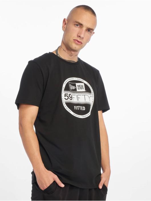 New Era T-skjorter Visor Sticker svart