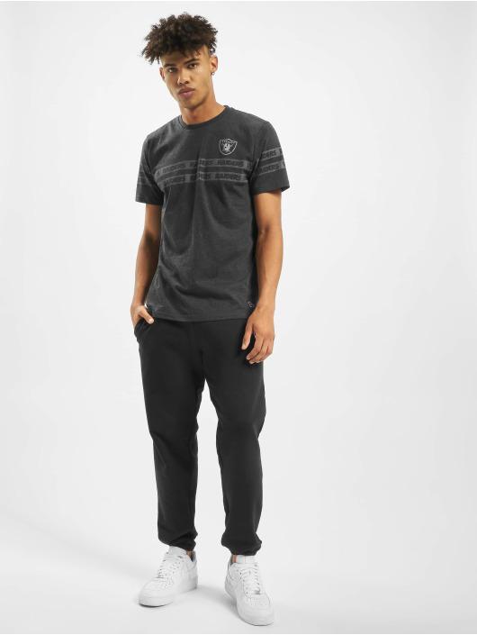 New Era T-skjorter NFL Oakland Raiders Tonal Black svart