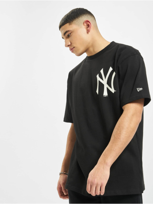 New Era T-skjorter MLB NY Yankees Big Logo Oversized svart