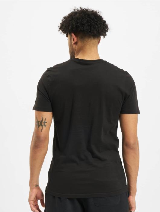 New Era T-skjorter NBA Chicgo Bulls Team Logo svart