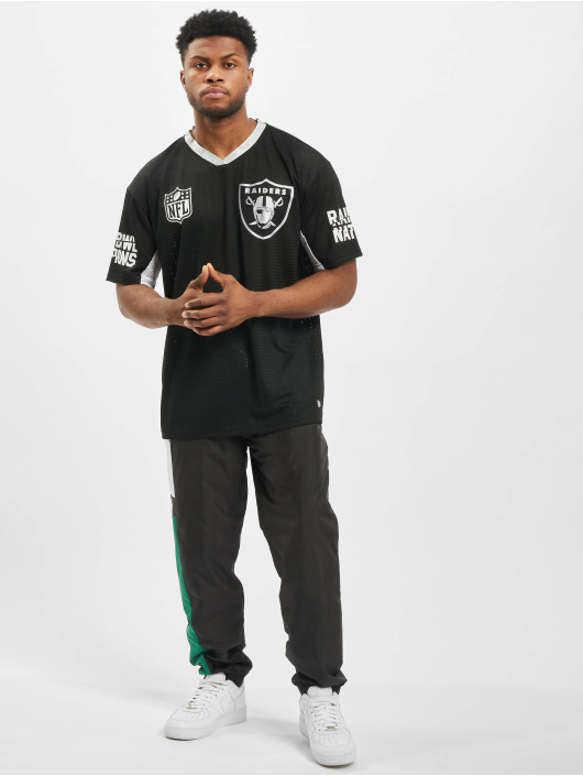 New Era T-skjorter NFL Oakland Raiders Oversized svart