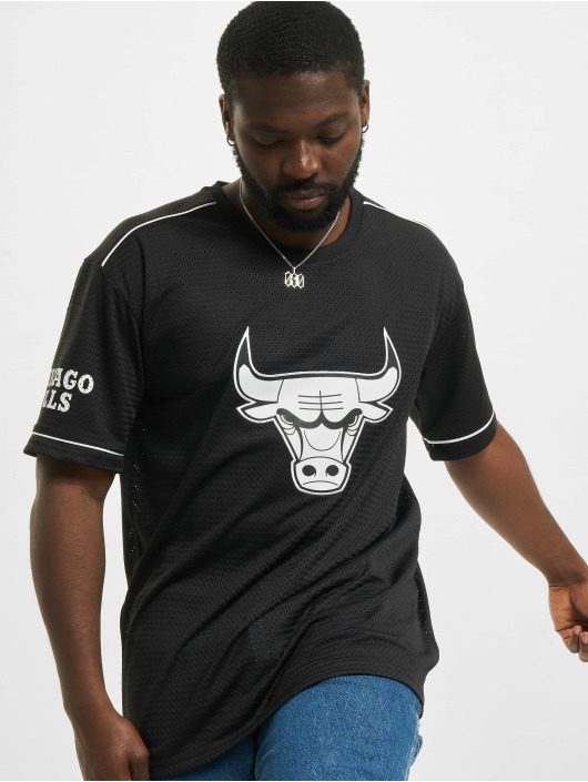 New Era T-skjorter NBA Chicago Bulls Team Logo Oversized svart