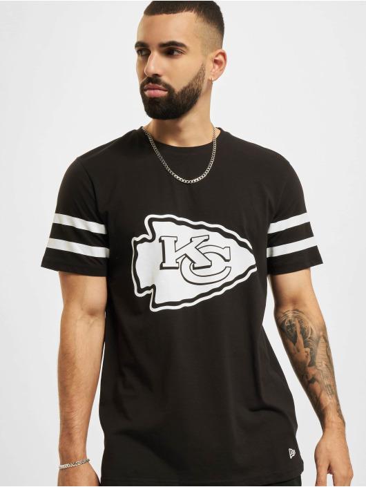 New Era T-skjorter NFL Kansas City Chiefs Jersey Inspired svart