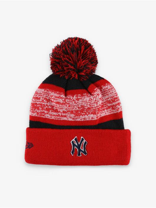 New Era Talvipäähineet MLB NY Yankees FL Snowfall Stripe 2 punainen