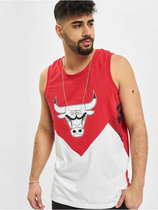 New Era Tank Top NBA Chicago Bulls Oil Slick röd