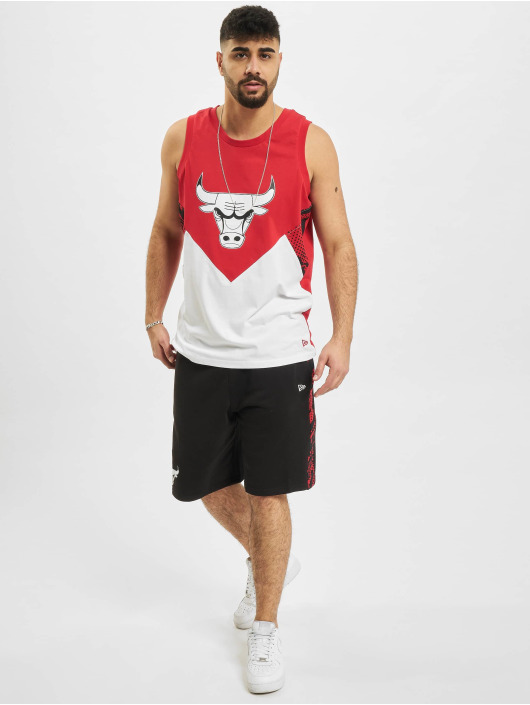 New Era Tank Tops NBA Chicago Bulls Oil Slick красный