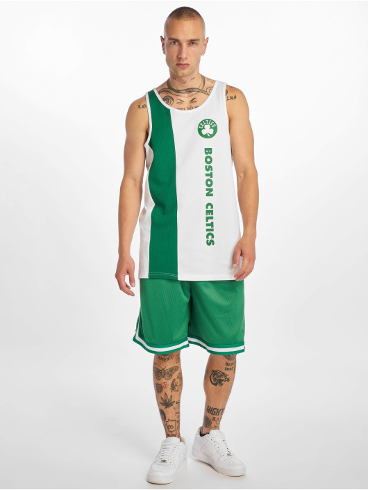 New Era Tank Tops NBA Boston Celtics Team Wordmark bialy