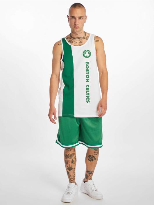 New Era Tank Tops NBA Boston Celtics Team Wordmark biela