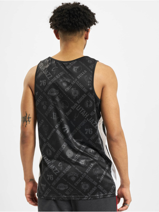 New Era Tank Tops NBA Chicago Bulls Aop black