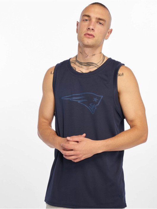 New Era Tank Tops NFL New England Patriots Tonal Logo blau