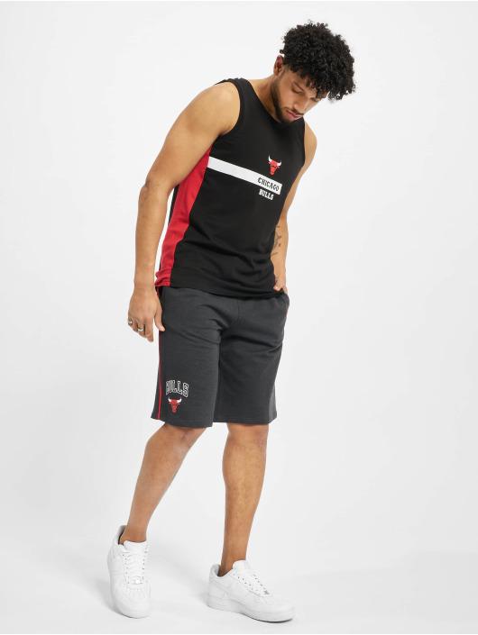 New Era Tank Tops NBA Chcago Bulls Block Wordmark czarny