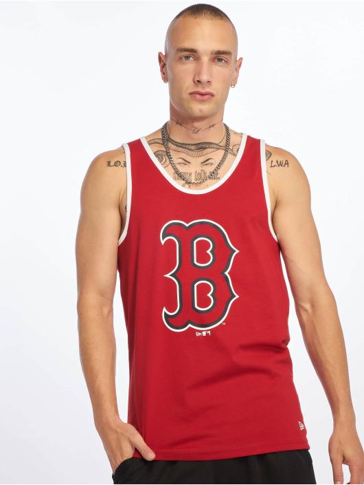 New Era Tank Tops MLB Boston Red Sox Logo czerwony