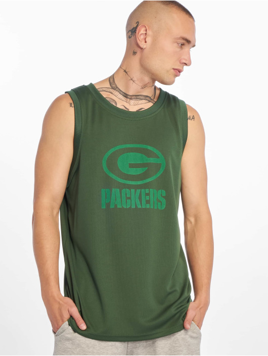 New Era Tank Tops NFL Green Bay Packers Tonal Logo green