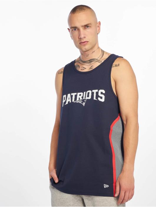 New Era Tank Tops NFL New England Patriots Mesh Print modrá